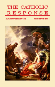 The Catholic Response January February 2012