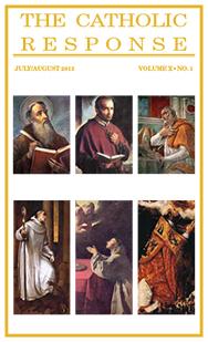 The Catholic Response July August 2013