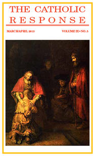 The Catholic Response March April 2013