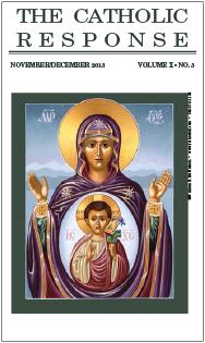 The Catholic Response November December 2013